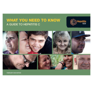 Cover of our hep C booklet