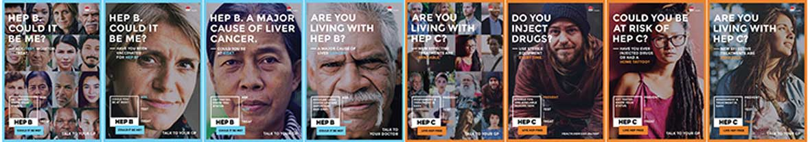 Hepatitis NSW communications campaign page banner