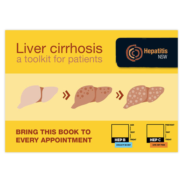 liver cirrhosis a toolkit for patients hepatitis nsw