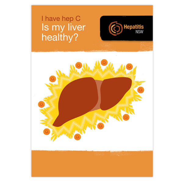 I have hep C, is my liver healthy? cover