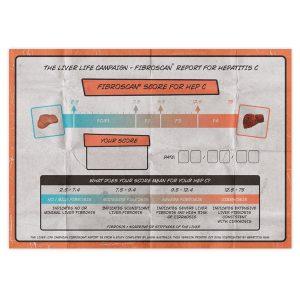 Hep C Fibroscan score card