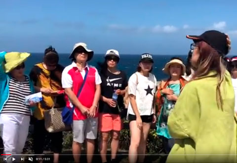 Chinese-Australian people meet to walk from Bondi to Coogee