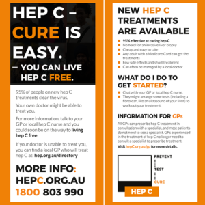 HEP C - Cure is easy - DL leaflet