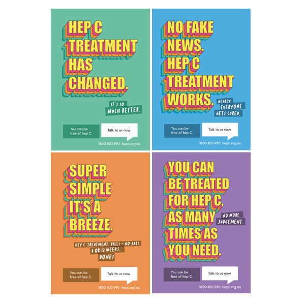 Hep C Clearing The Path posters